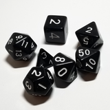 Polyhedral Solid Dice (7 Count)