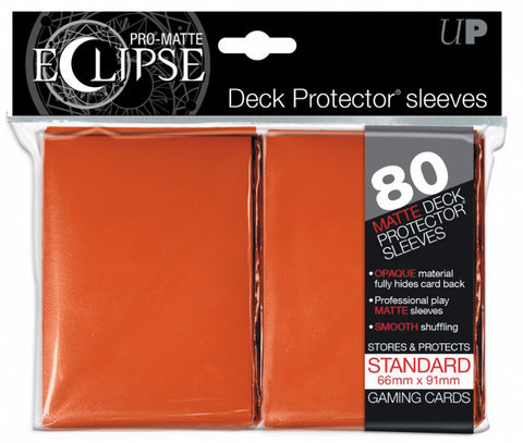 Pro-Matte Eclipse Standard Deck Protector Sleeves (80 Count)