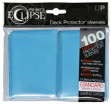 Sky Blue Pro-Matte Eclipse Deck Sleeves