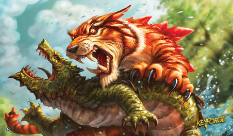 KeyForge: Call of the Archons - Mighty Tiger Playmat