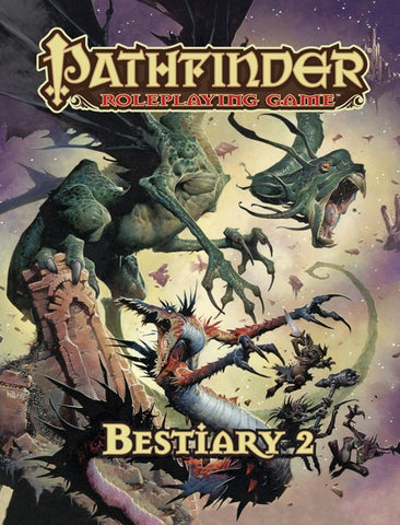 Pathfinder RPG: Bestiary 2 Book