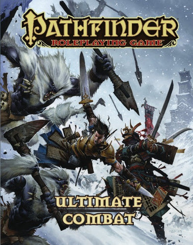 Pathfinder RPG: Ultimate Combat Book