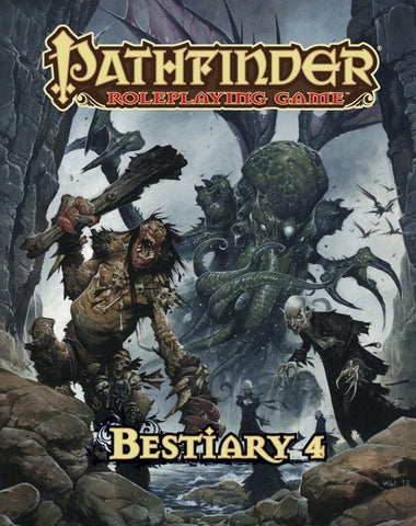 Pathfinder RPG: Bestiary 4 Book