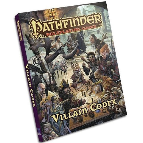 Pathfinder RPG: Villian Codex