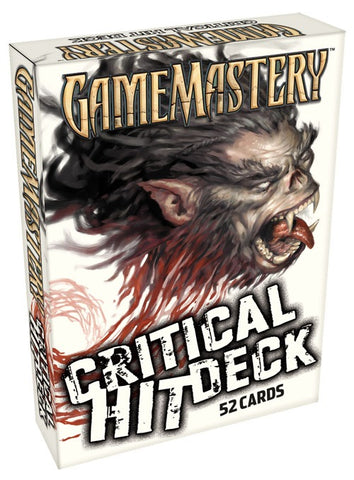 Pathfinder RPG: Gamemastery - Critical Hit Deck