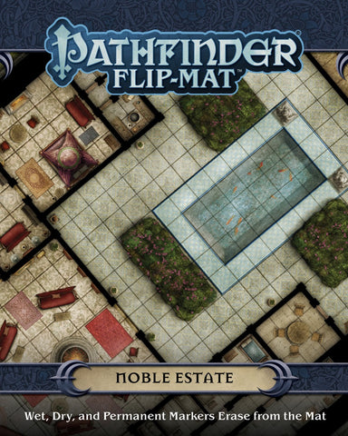 Pathfinder RPG - Flip Mat: Noble Estate