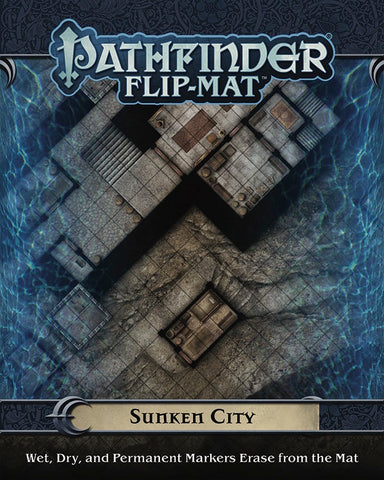 Pathfinder RPG - Flip Mat: Sunken City