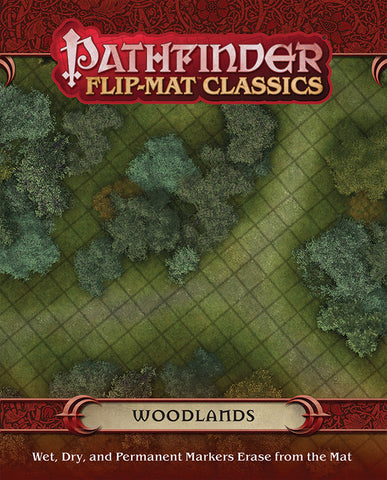 "Pathfinder RPG - Flip Mat: Classics ""Woodlands"""