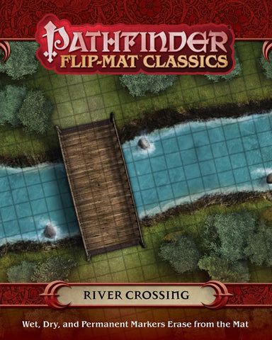 "Pathfinder RPG - Flip Mat: Classics ""River Crossing"""