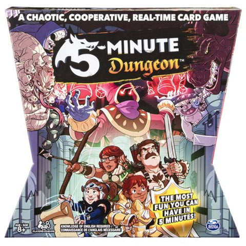 5 Minute Dungeon Card Game Game Box