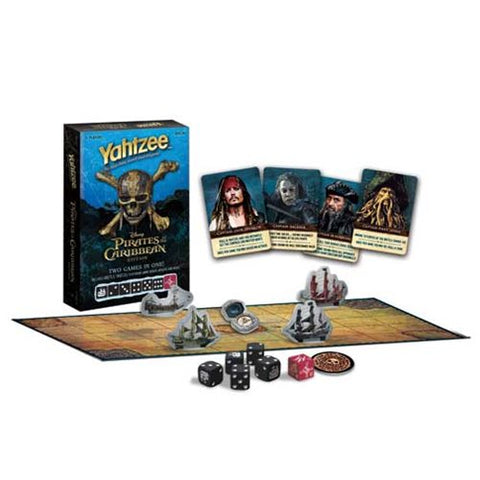 Pirates of the Caribbean: Dead Men Tell No Tales Battle Yahtzee Game Box