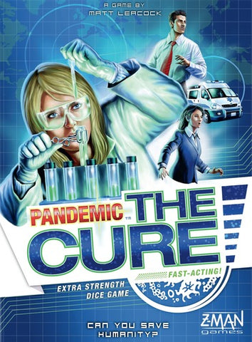 Pandemic: The Cure Game Box
