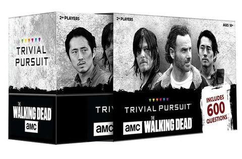 Trivial Pursuit: Walking Dead Game Box