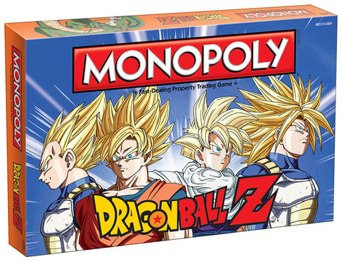 Monopoly: Dragon Ball Z Game Box