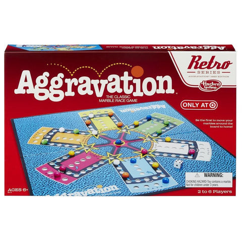 Aggravation Retro Series 1989 Edition Game Box