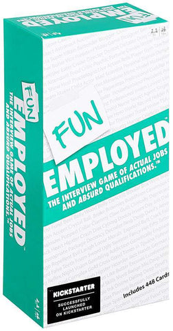 Funemployed Card Game Game Box