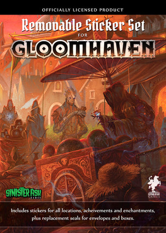 Gloomhaven - Removable Stickers Set