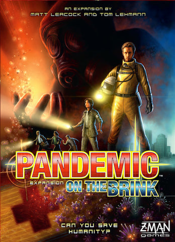 Pandemic: On The Brink Game Box