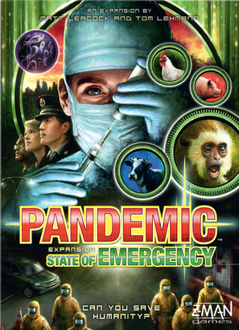 Pandemic: State of Emergency Game Box