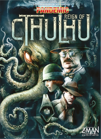 Pandemic: Reign of Cthulhu Game Box