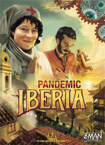 Pandemic: Iberia Game Box
