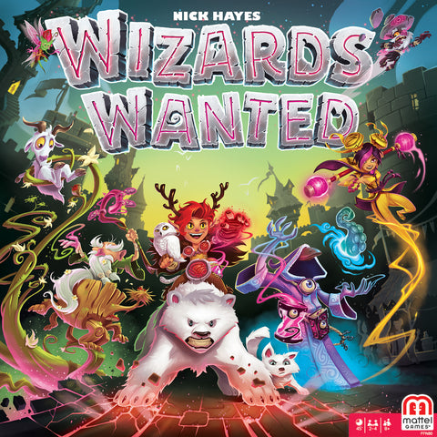 Wizards Wanted Game Box