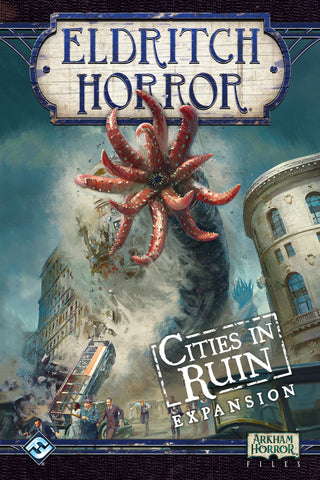 Eldritch Horror: Cities of Ruin Game Box