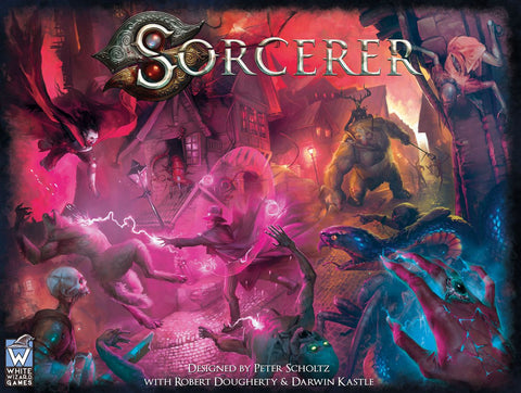 Sorcerer + All Kickstarter Expansions