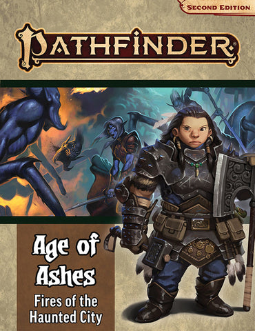 Pathfinder Rpg: Adventure Path - Age Of Ashes Part 4 - Fire Of The Haunted City (p2)
