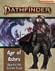Pathfinder Rpg: Adventure Path - Age Of Ashes Part 5 - Against The Scarlet Triad (p2)