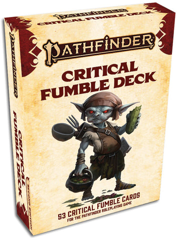 Pathfinder Rpg: Critical Fumble Deck (p2)