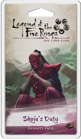 Legend Of The Five Rings Lcg: Shoju`s Duty Dynasty Pack