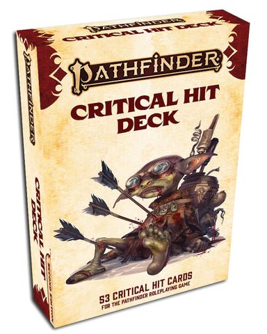 Pathfinder Rpg: Critical Hit Deck (p2)