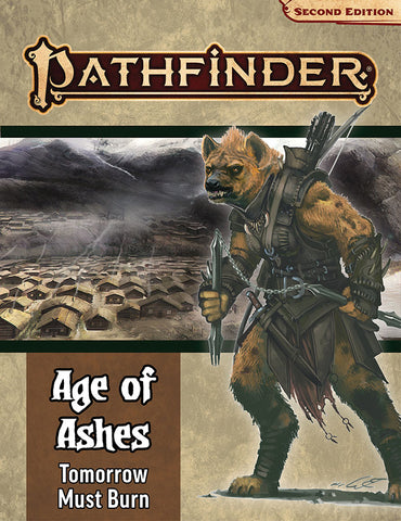 Pathfinder Rpg: Adventure Path - Age Of Ashes Part 3 - Tomorrow Must Burn (p2)