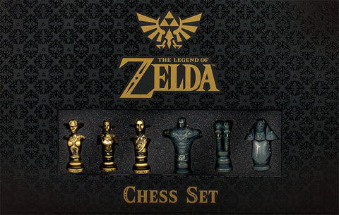 Legend of Zelda: Collector's Chess Set Game Box