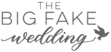 The Big Fake Wedding Logo