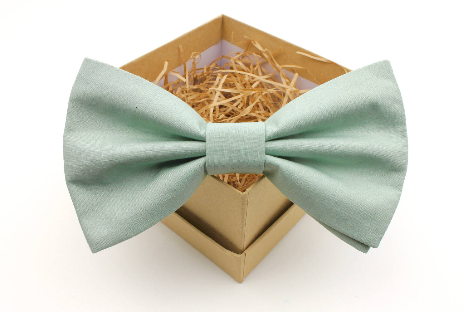Light Sage Green Bow Tie