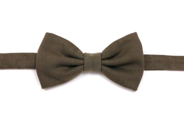 Olive Green Bow Tie
