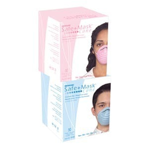AMD RITMED Box of 50 Cone Face Mask, Blue AMD 2020