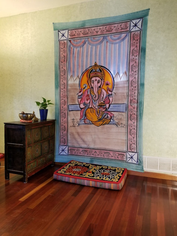 Ganesh Cotton Tapestry