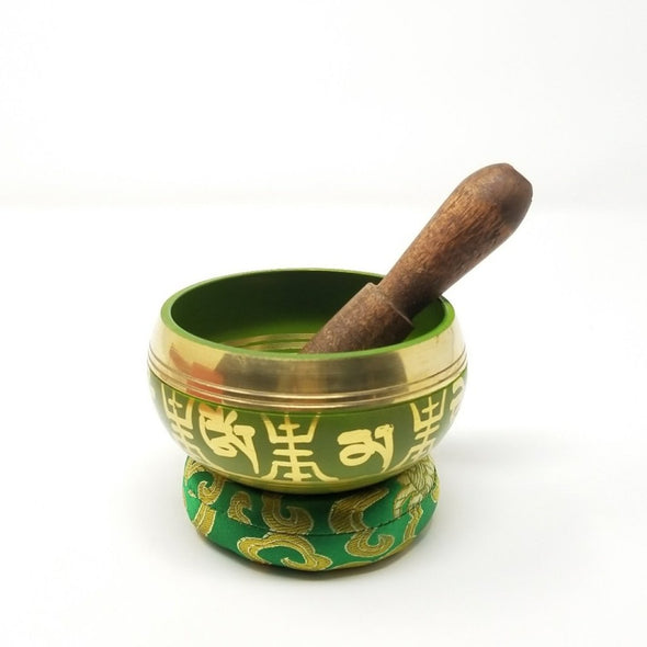 "3.5"" BEAUTIFUL HANDPAINTED TIBETAN SINGING BOWL SET-BEST SELLER"