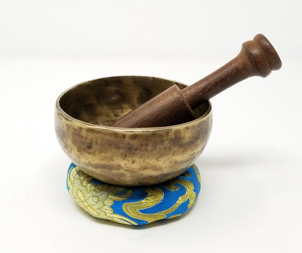 Hand Beaten Tibetan Singing Bowl 3.5""