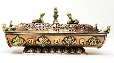 Tibetan Incense Burner/Holder (Handmade)