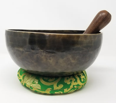 OLD HAND BEATEN TIBETAN SINGING BOWL 5""