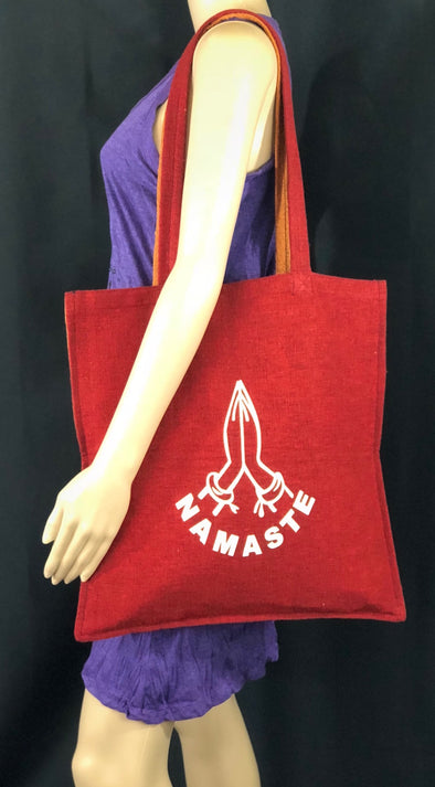 HANDWOVEN HEAVY COTTON TOTE (DOUBLE FACE)