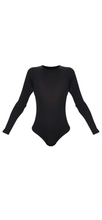 Long Sleeve Scoop Neck Bodysuit
