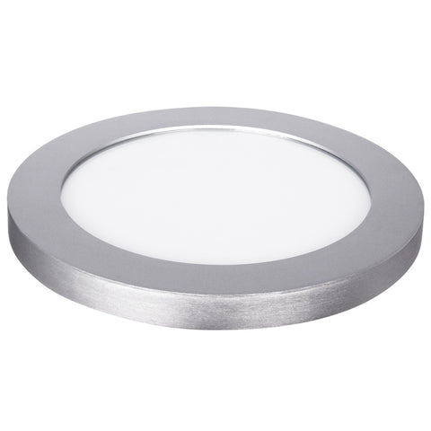 "12.5W LED 11"" Circular Flat Panel 4K Flush Mount Ceiling Fixture #64732-FET"