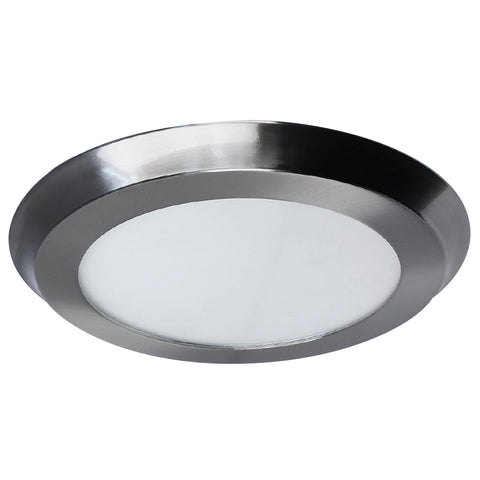 "22W LED 15"" Circular Flat Panel 3K Flush Mount Ceiling Fixture #64735-FET"