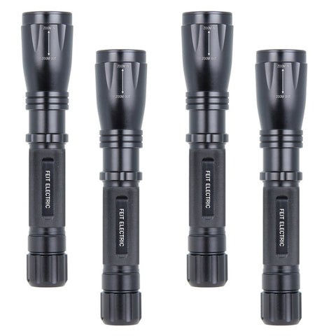 LED HP FLASHLIGHT 500LM (4 PACK) 61307-FETc