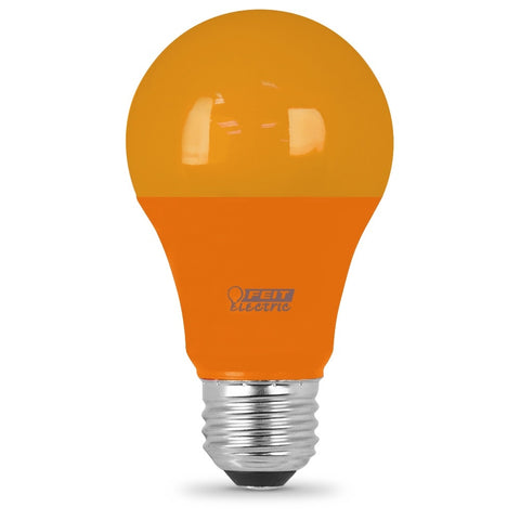 LED 4.5W A19 Orange (4 Pack) 61642-FETc